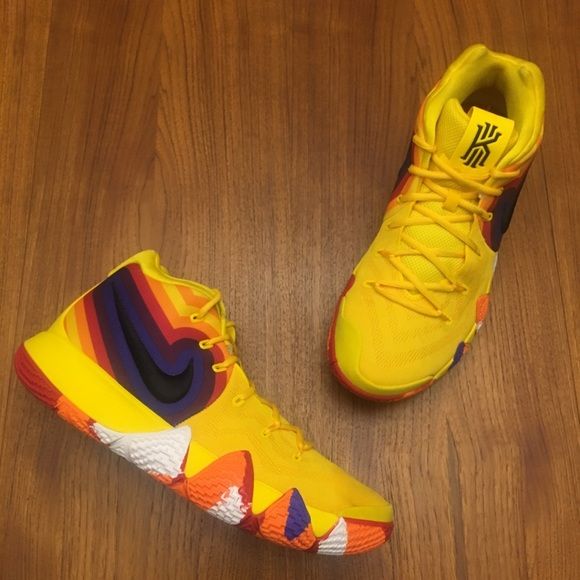 finest selection 881d2 a8b91 WORN 1X Nike Kyrie 4 70s Size 13